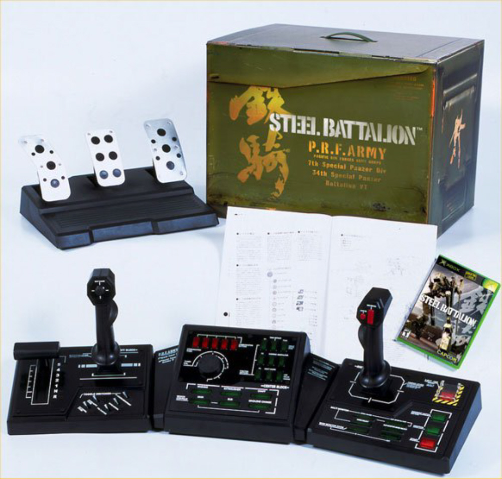 steel-battalion-1-xbox-controller-with-pedals-and-box-package