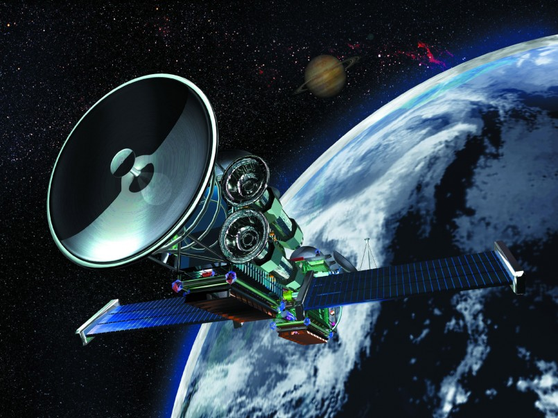 3D Satellite  desktop wallaper