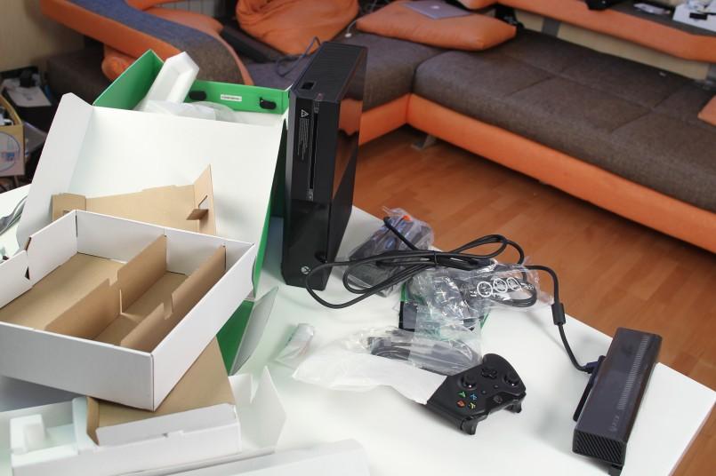знакомство с xbox one