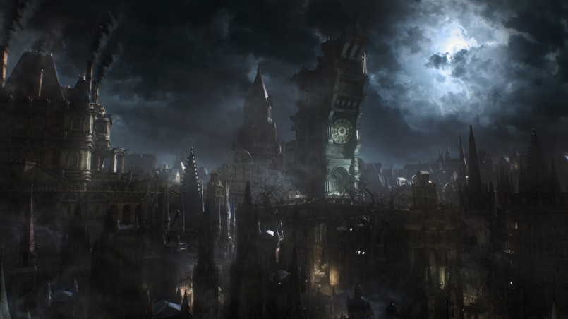 Bloodborne-city