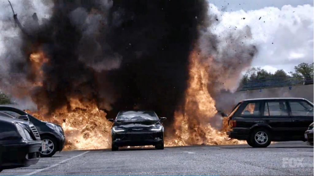Drone-car-explosion