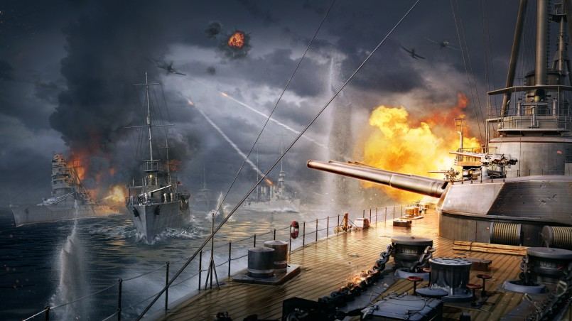 WoWS_Artwork_Rock_Paper_Scissors world of warships