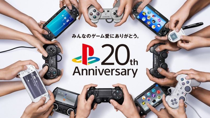 20th anniversary playstation