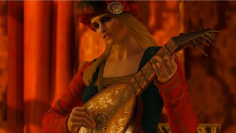 Skyrim - Лютня из Ведьмака (Реплейсер)