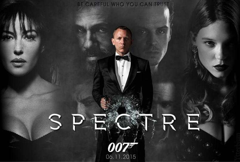 Боевик «007: СПЕКТР» стартовал с рекордными сборами в 5 странах из 6