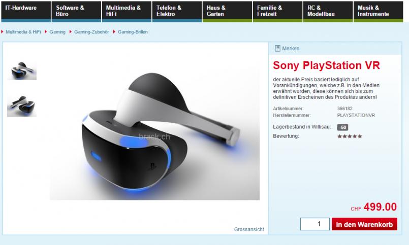 FireShot Capture 38 - Sony PlayStation VR_ - https___www.brack.ch_sony-playstation-vr-366182