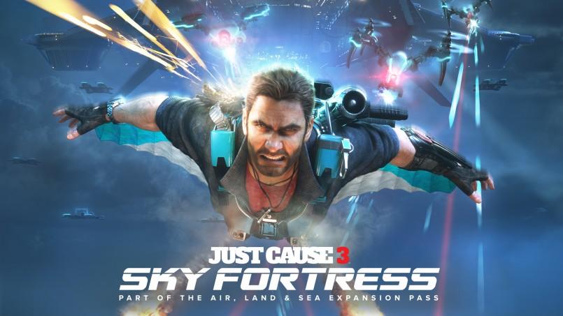 jc3 just cause -sky-fortress-key-art